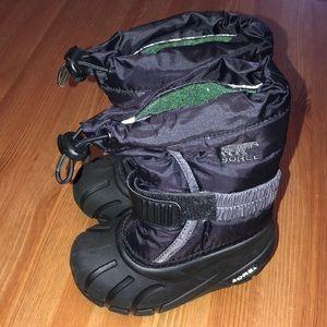Toddler Sorel Snow/Winter boots - Like new sz 8
